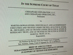 Oil companies, royalty owners group weighs in on Texas Supreme Court's Chesapeake decision