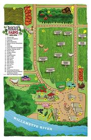 Rogue Farms currently grows nine varieties of hops.