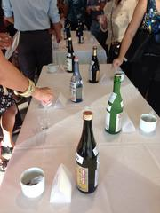 Some of the sake that will be featured at the Honolulu Joy of Sake event on Aug. 16.