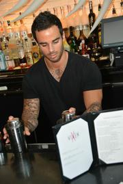 Drinks make mingling easier.