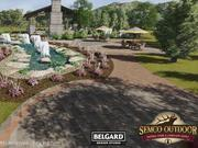 Semco Outdoor Cincinnati will have acres of outdoor displays, showing landscape and stone products.