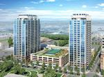 Top apartment or condominium project: The dual towers of SkyHouse Uptown