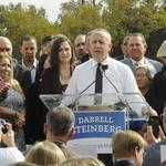 Joining mayoral race, Steinberg delivers pro-development vision