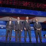 Republican presidential 'undercard' debate in Boulder: The complete transcript