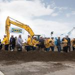 Ikea begins to assemble its new Renton store
