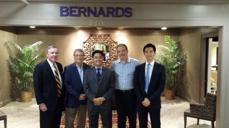 Furniture Executive Daniel Lim And His Wife Janet Purchased Importer Bernards In Greensboro