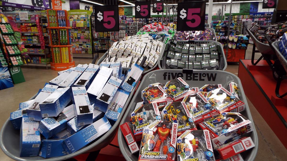 "The New Five-And-Dime Store That retailer would be Five Below, which, after opening its doors in , called itself ""the Five-and-Dime for the iPod Generation"" in a press release."