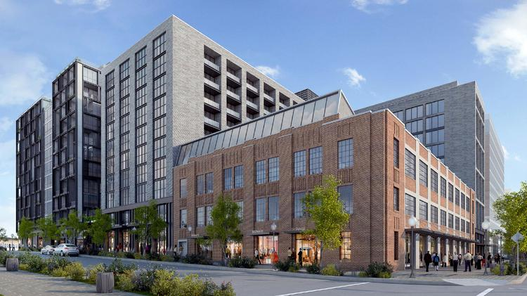 Foulger Pratt Eyes Residential Towers Hotel And Retail