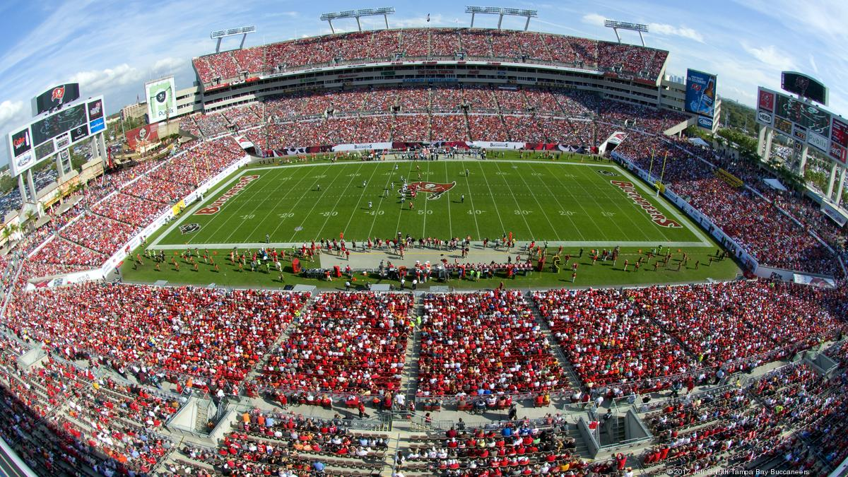 tampa bay buccaneers end contract with food service provider aramark at raymond james stadium tampa bay business journal tampa bay buccaneers end contract with