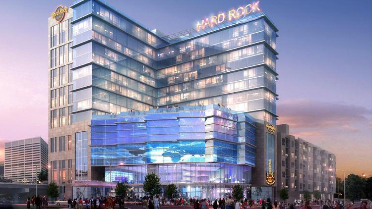 Rendering Released Of Hard Rock Hotel Atlanta Atlanta