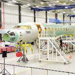 Bombardier shows off its Global 7000 business jet