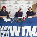 Green Bay Packers John Kuhn and Mark Tauscher entertain fans: Slideshow