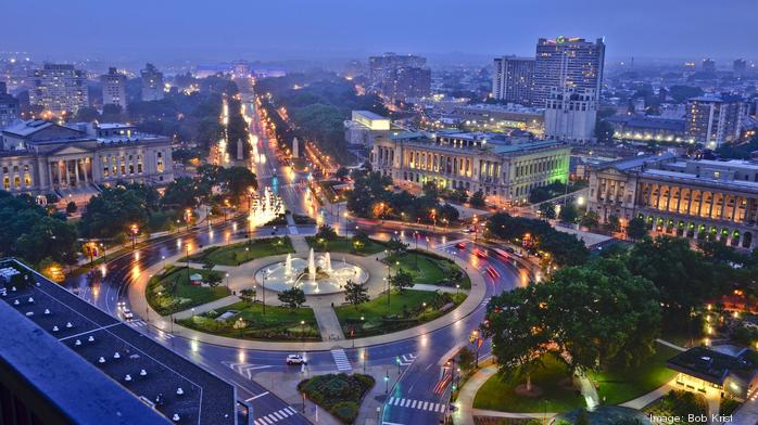 $1M+ to bring 'dramatic' art installation for Ben Franklin Parkway centennial
