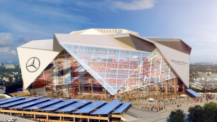 Mercedes Of Atlanta >> At T Becomes Founding Partner Of Mercedes Benz Stadium Atlanta