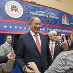 G.O.P. debate lineup: Trump in No. 1 spot, Christie at kid's table, Pataki not invited