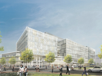 Construction workers fall at Harvard science and engineering complex site