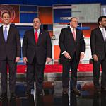 Sights and sounds from the Republican presidential debate in Milwaukee