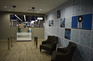 Inside Jibo's new headquarters in Boston.