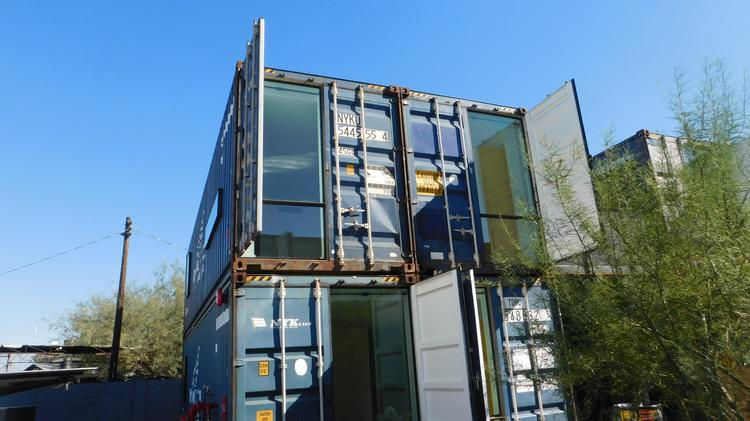Grand Avenue Shipping Container Apartments In Phoenix Will