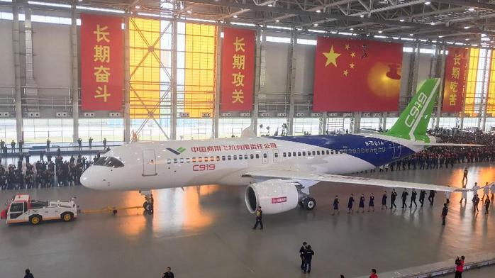 ​China says its answer to Boeing and Airbus is ready to fly