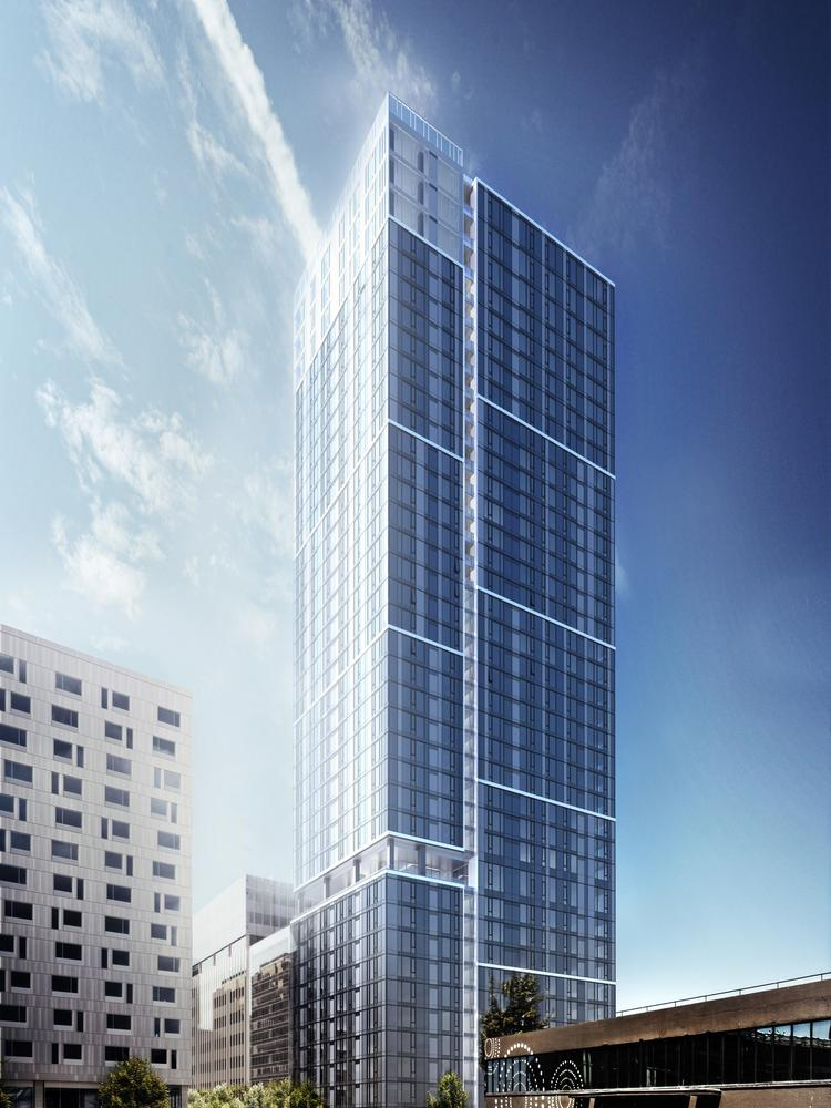 Seattle apartment skyscraper will be three projects in one - Puget ...