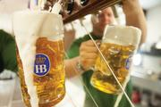 While the previous owners offered 250 types of bottled beer, the bar now offers just 10 drafts inside and 14 in the beer garden, all of them German.