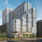 22-story apartment, Whole Foods tower breaks ground in Harbor East; name unveiled
