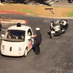 Why police pulled over a Google self-driving car and issued no ticket