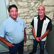 (L-R) Shane Mitchell and Mark Manning started Rock Solid Internet & Telephone in 2006.