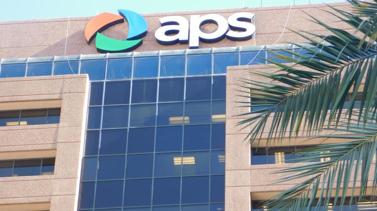 One of the office towers is home to APS.