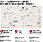 The List: Retail centers re-ranked; Biggest centers under construction