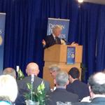 <strong>Bill</strong> <strong>Clinton</strong> speaks at the University of Dayton