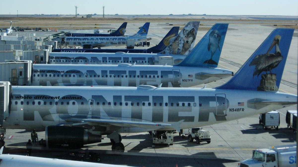 Frontier Airlines launching new flights from Denver to two ...