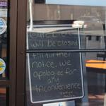 Downtown's Cafe Bien closed 'till further notice'