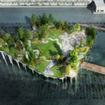 Opponents of <strong>Barry</strong> <strong>Diller</strong>'s $200 million floating park won a legal victory