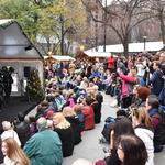 Thousands come out to Christmas Village opening weekend