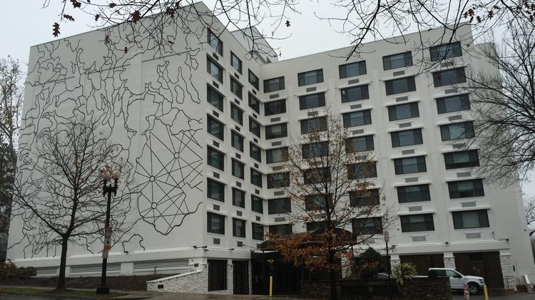 This View Of 2505 Wisconsin Ave Nw Home The Future Kimpton Glover Park