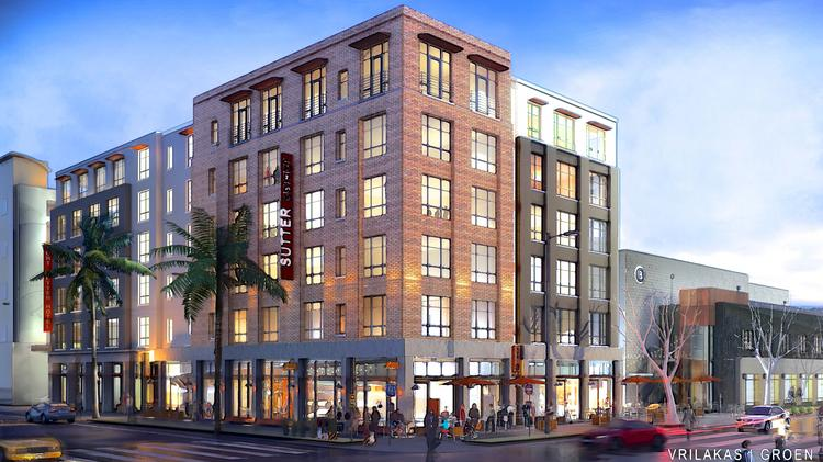 A Rendering Of Proposed Hotel From Restaurateur Randy Paragary At 28th And Capitol Ave
