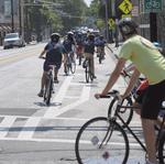 Buckhead Coalition opposes bike lanes on Peachtree Road