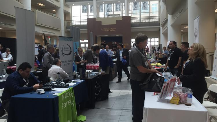 Over 2,000 people attended ITPalooza at Nova Southeastern University.
