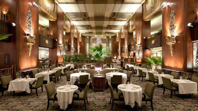Orchids At Palm Court Is Ohio S Only Five Diamond Restaurant It Earned That Distinction