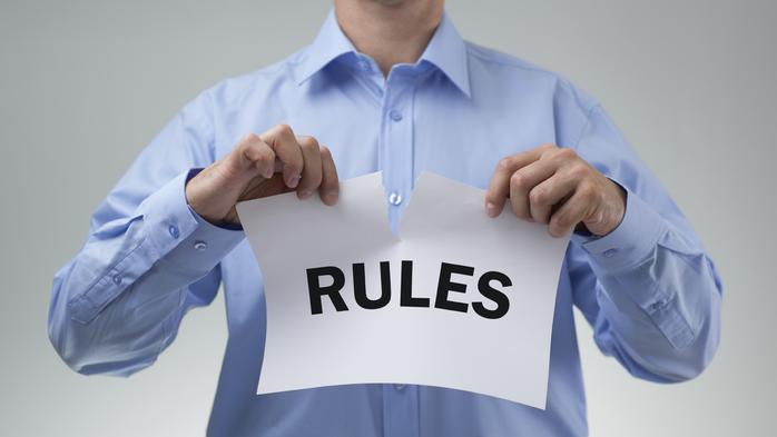6 business rules you should break (but only if you want to succeed)