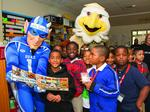 ACC mascots pay local elementary school students a surprise visit (PHOTOS)