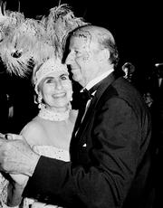 1985 The couple revives the midwinter Mardi Gras celebration in Galveston, which today draws 500,000 visitors annually.