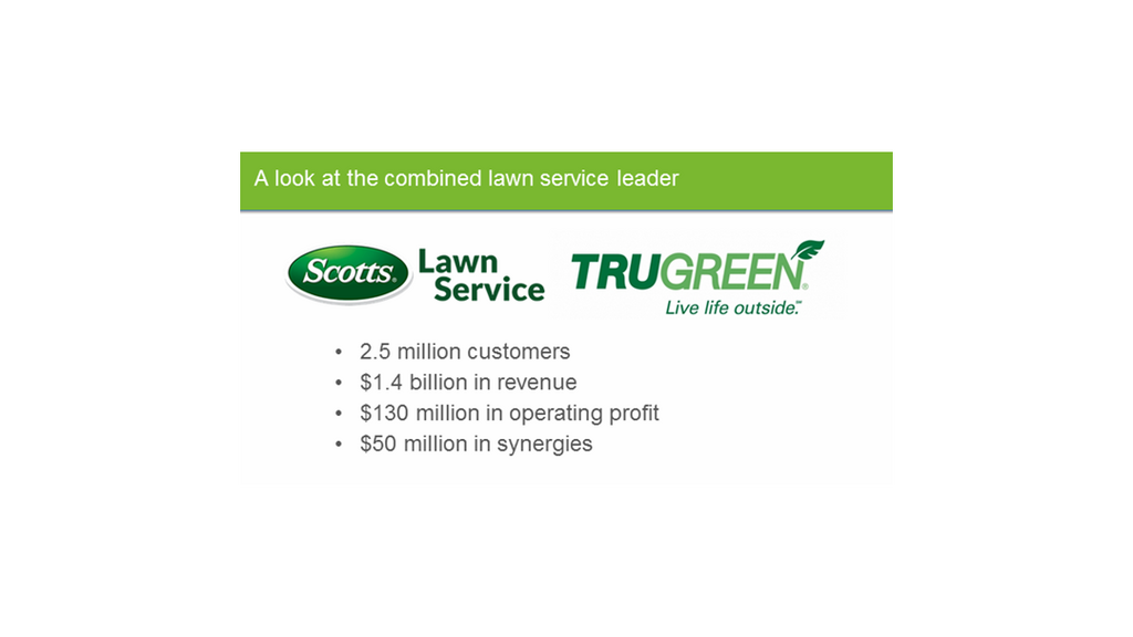 Scotts Miracle Gro To Merge With Trugreen Chemlawn As Part Of Major Pivot Columbus Business First