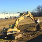 Construction begins on industrial building