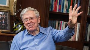 Forbes names Charles Koch one of its Top 100 business minds