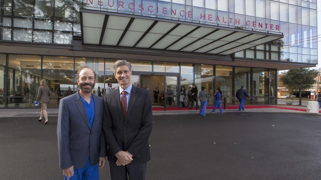 Stanford completes $80 million Neuroscience Health Center - San
