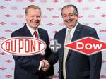 DowDuPont picks names for spinoff companies