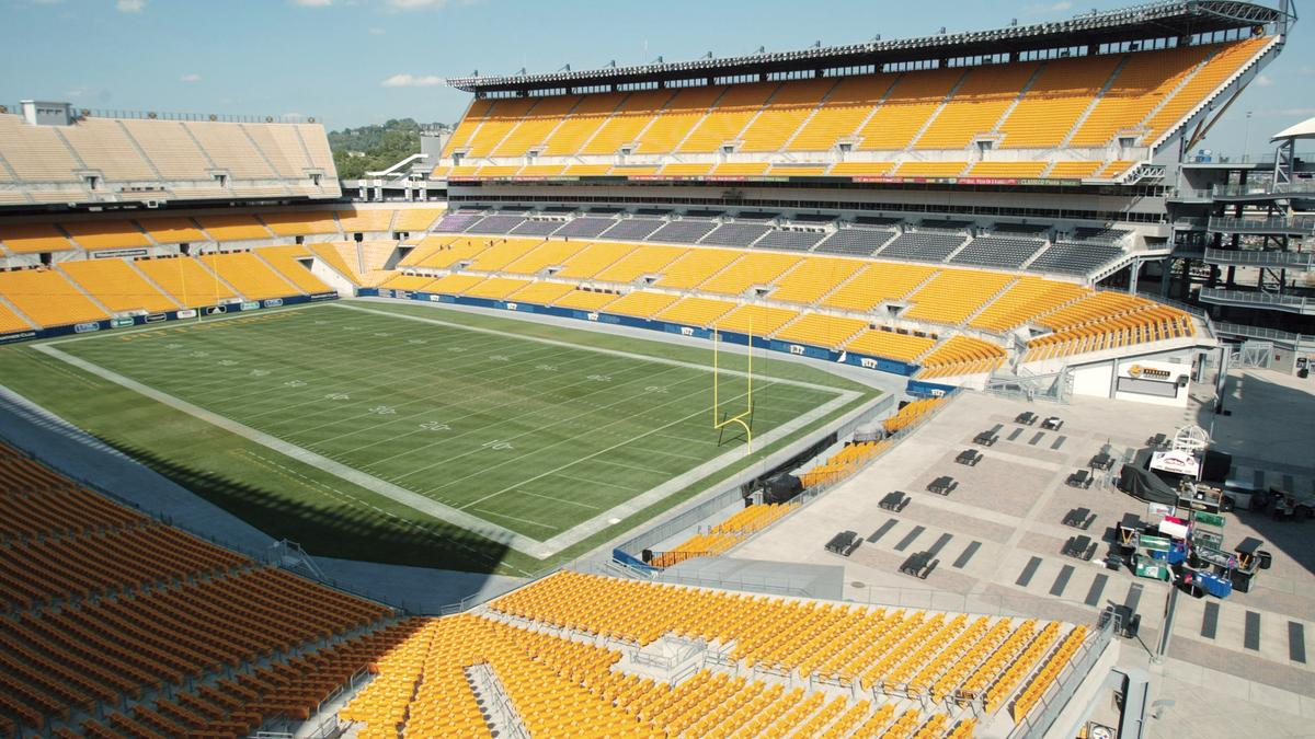 Heinz Field in Pittsburgh, PA - Home of the Steelers and ...